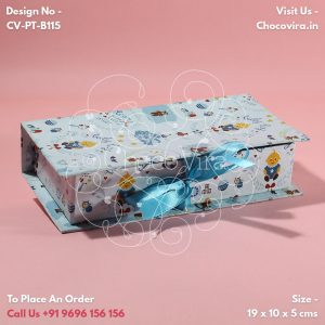 baby boy announcement box designs
