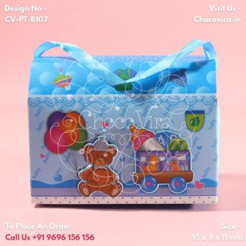 baby boy announcement chocolate gift boxes