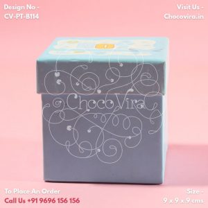 baby boy announcement message chocolate boxes