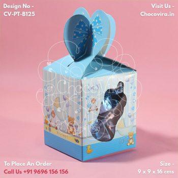 baby boy birth announcement boxes in mumbai