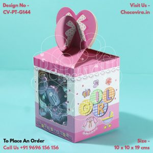 baby girl announcement chocolate boxes in mumbai