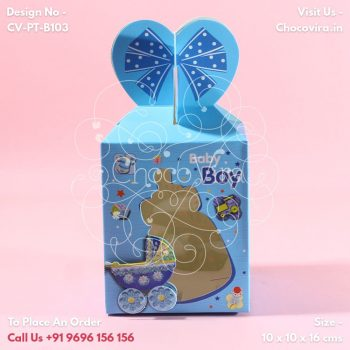 best baby boy announcement chocolate boxes