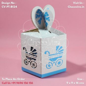 Gift The Best Baby Boy Announcement Chocolate Favours From Chocovira