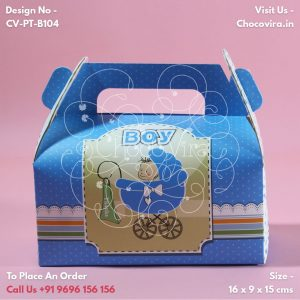 top baby boy announcement chocolate boxes