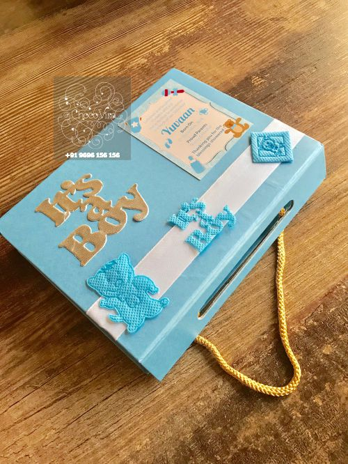handmade chocolate boxes for baby boy birth announcment gifts under 250 in india