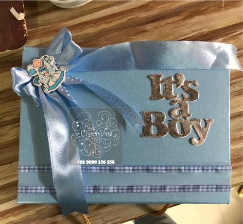 ITS A BOY BIRTH ANNOUNCEMENT BOXES UNDER 250 RS