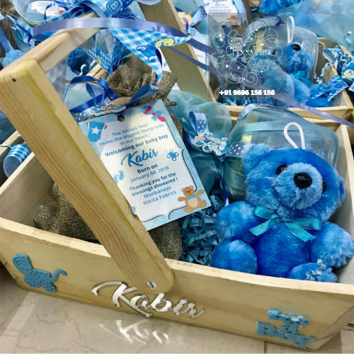 personalized announcement hampers for babies in india
